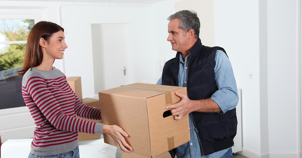 Simply helping someone to move is a great way to make others happy