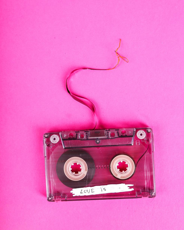cinta de casete