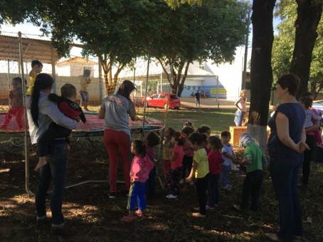Espaços de Lazer: Projeto de Educação Física da Universidade Paranaense leva alegria à comunidade