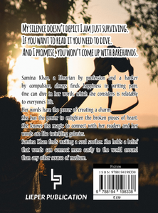 interview with author Samina Mushtaq Khan - back of the book blurb
