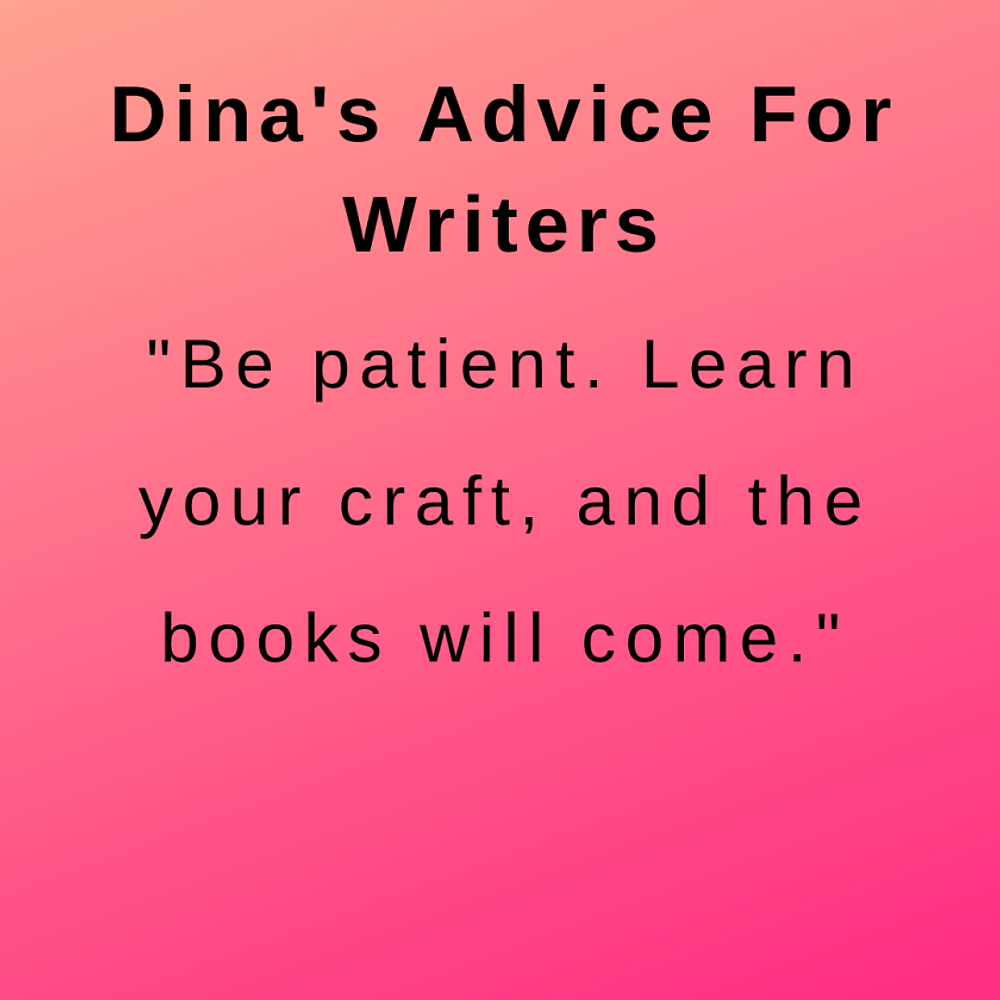 interview with author dina santorelli - advice