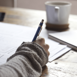 The first of the Top Five Ways On How To Beat Writer's Block is to keep on writing