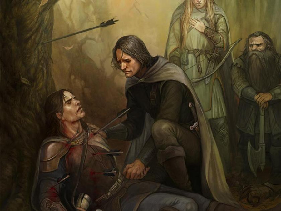 Unusual consequences of a death scene can result in a main character changing course, like Aragorn