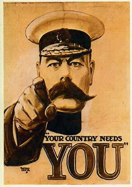 How to choose the right point of view? Look at this WWI propaganda piece.