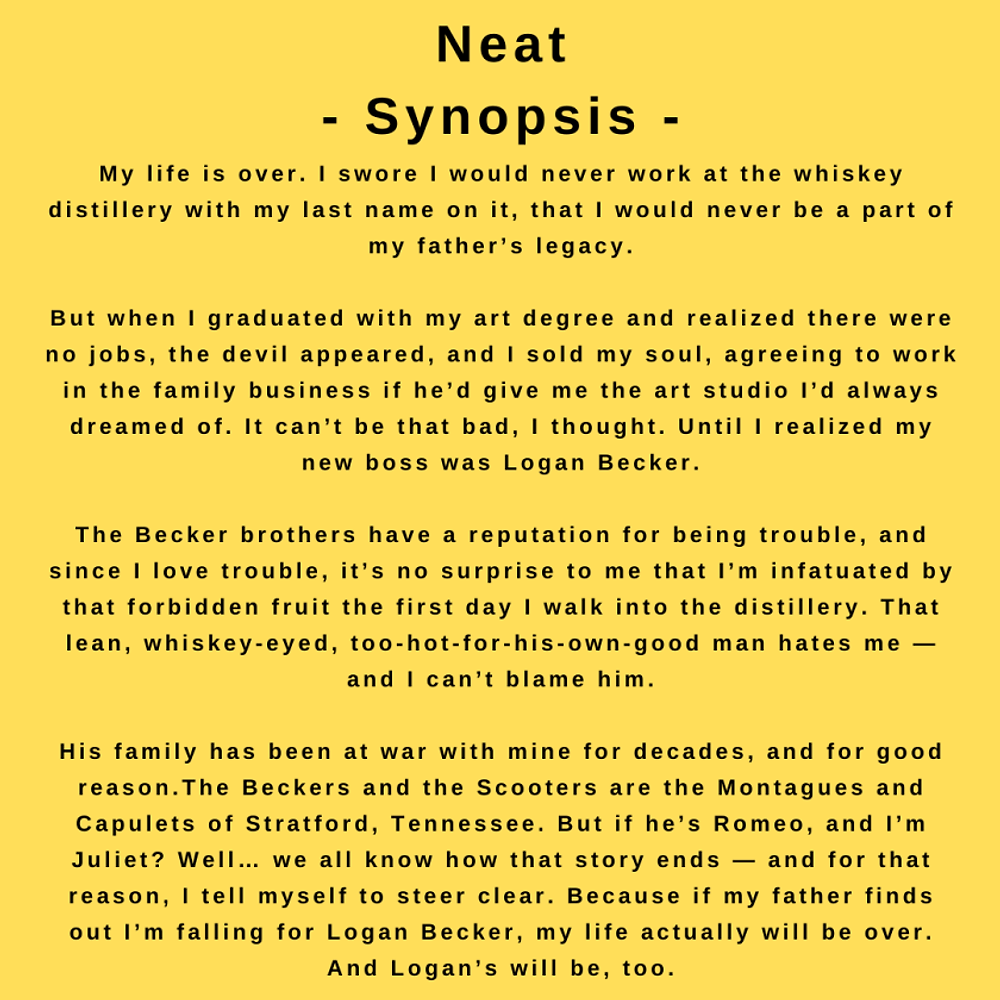 Interview with author Kandi Steiner - the synopsis for Neat