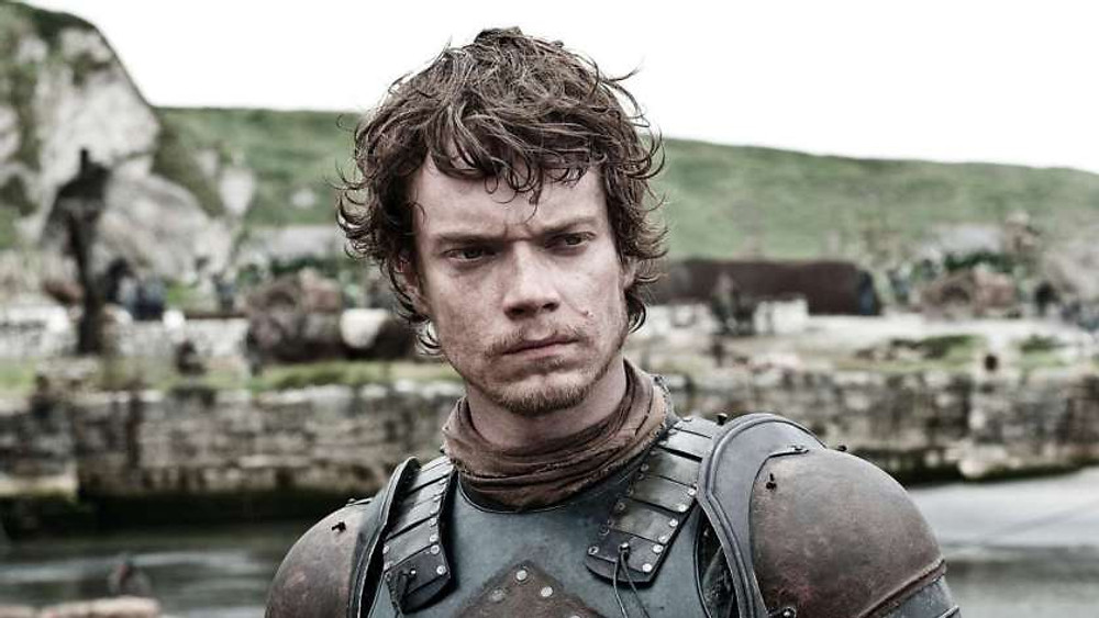 An example for the seventh of the nine great pointers on how to create a compelling central protagonist is Theon