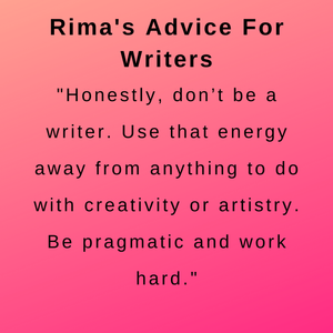 interview with author rima jbara - her advice.