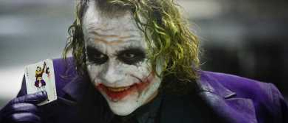 Another of the five crucial questions that writers must ask themselves is what will the antagonist/villain be like. The Joker is a great example of a villain who is charismatic and has a goal.