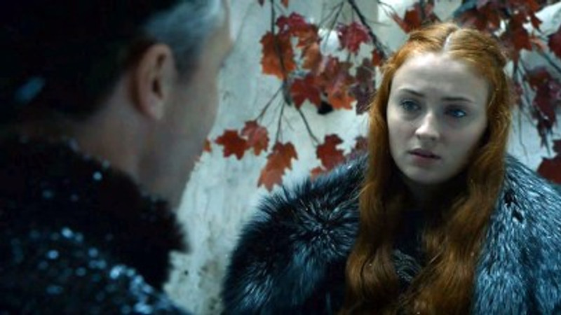 Lord Petyr makes his proposition to Sansa, ensuring that she is caught in a paradox.