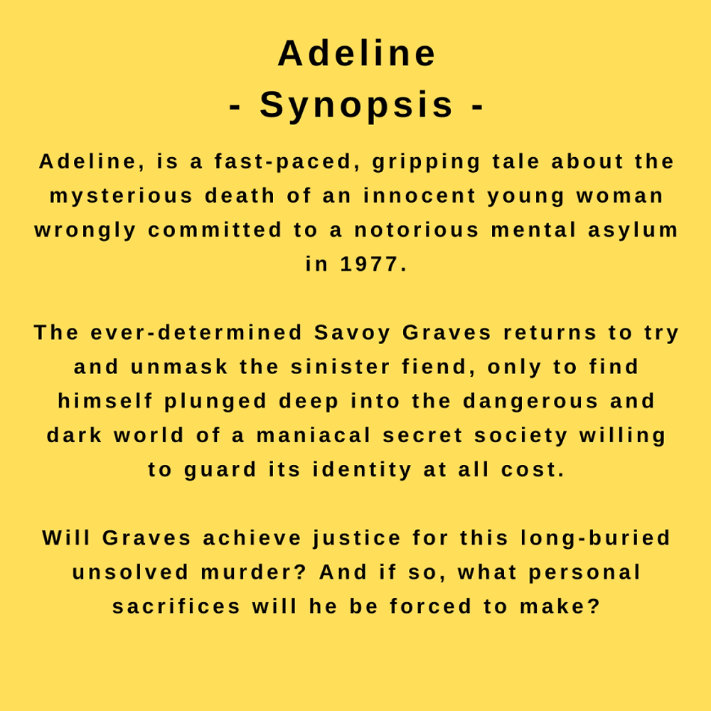 interview with author mark torres - synopsis for his novel, Adeline