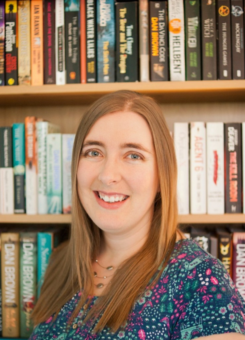 interview with author samantha goodwin - photo of herself