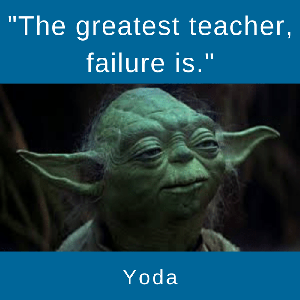 The importance of boredom is indrectly said by Yoda.