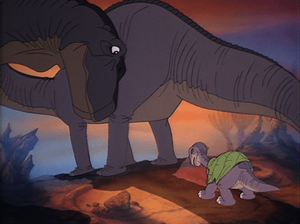 fourteen ways to depict mothers in stories - the guiding mother, littlefoot's mother