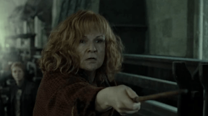 fourteen ways to depict mothers in stories - the fighter, Molly Weasley