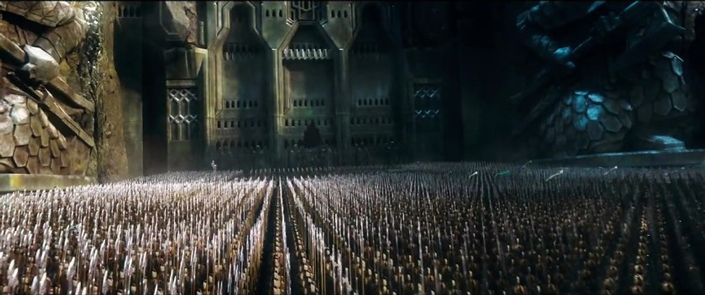 Erebor was the perfect place for the battle in the Hobbit, and is my first tip on how to write a phenomenal battle.