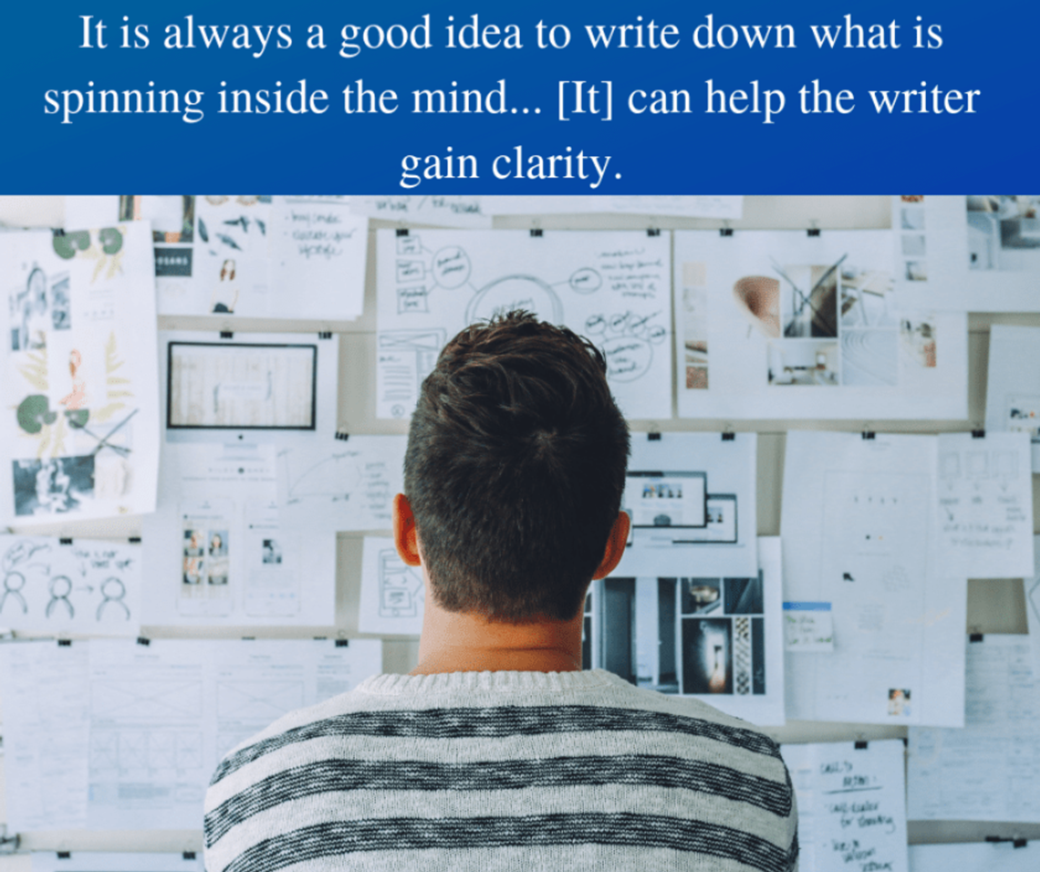 the third of the seven helpful tips on how to approach writing a novel is to write down one's ideas.