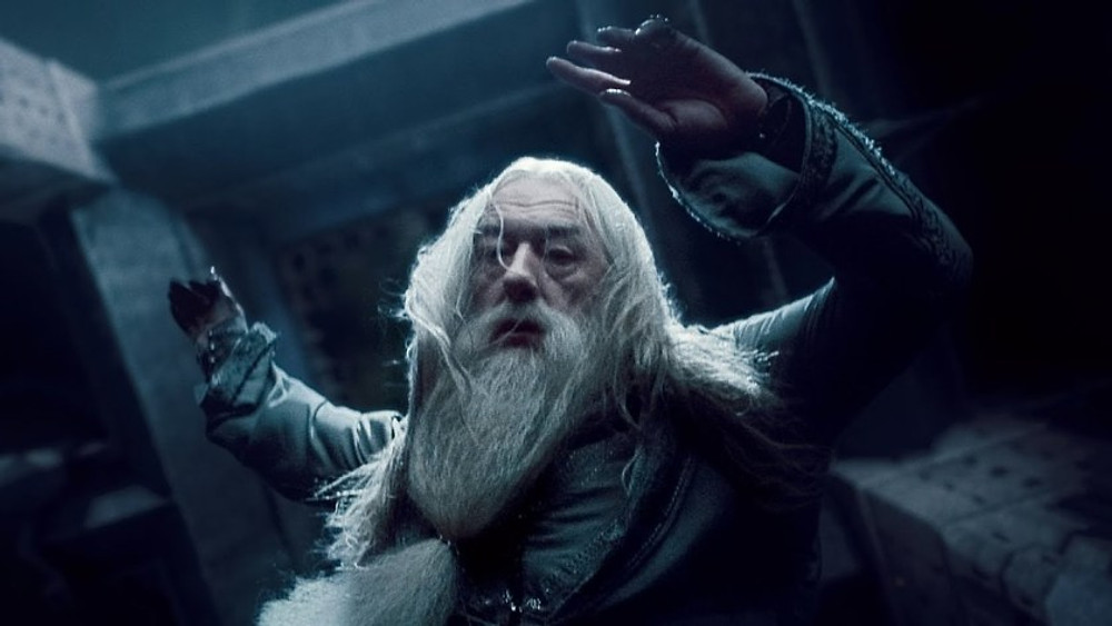 An unusual consequence of a death scene can be that the main character is vulnerable, like Harry after Dumbledore's death.