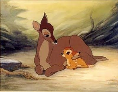 fourteen ways to depict fictional mothers - bambi's mother