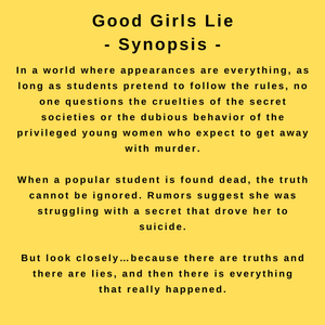 interview with author jt ellison - synopsis for good girls lie