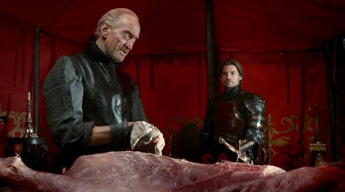 the best way to introduce a villain or antagonist - introduce him/her late on, like Lord Tywin Lannister