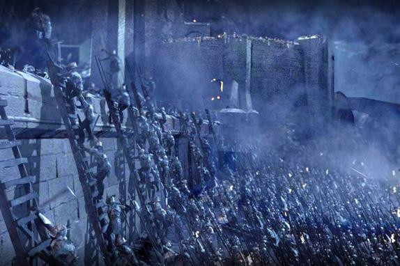 One of the eight great tips on how to write a phenomenal battle is include ebbs and flows in the battle, like at Helm's Deep.