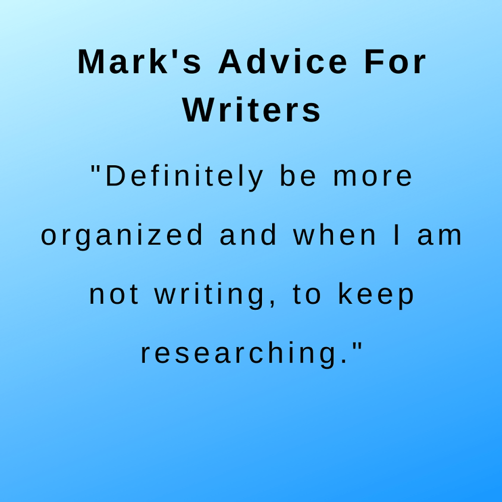 interview with author mark torres - advice