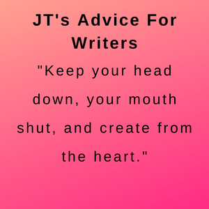 interview with author jt ellison - her advice