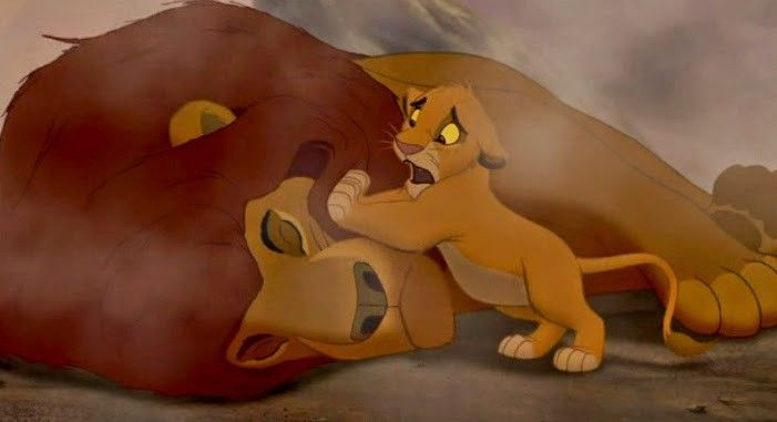 how to write an emotionally impactful death scene - look no further than Mufasa's death.