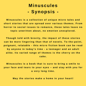 Interview with author Priyanka Bhatt - the synopsis to her book, Miniuscules