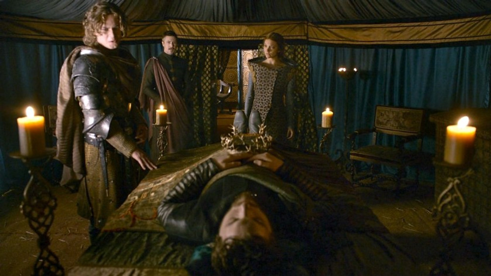Unusual consequences of a death scene can be the forging of new alliances, like with the Tyrells after Renly's death.