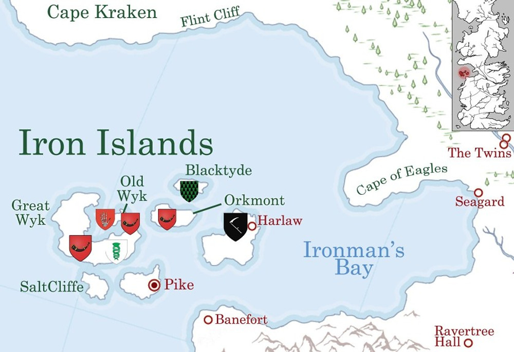 The fourth of eight great tips on how to build a sophisticated fantasy world is by looking at the Iron Islands and how they impact the plot.