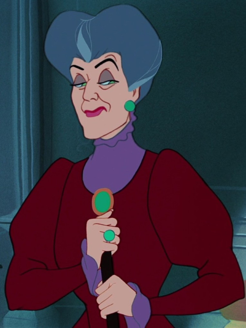 how to depict mothers in stories - lady tremaine