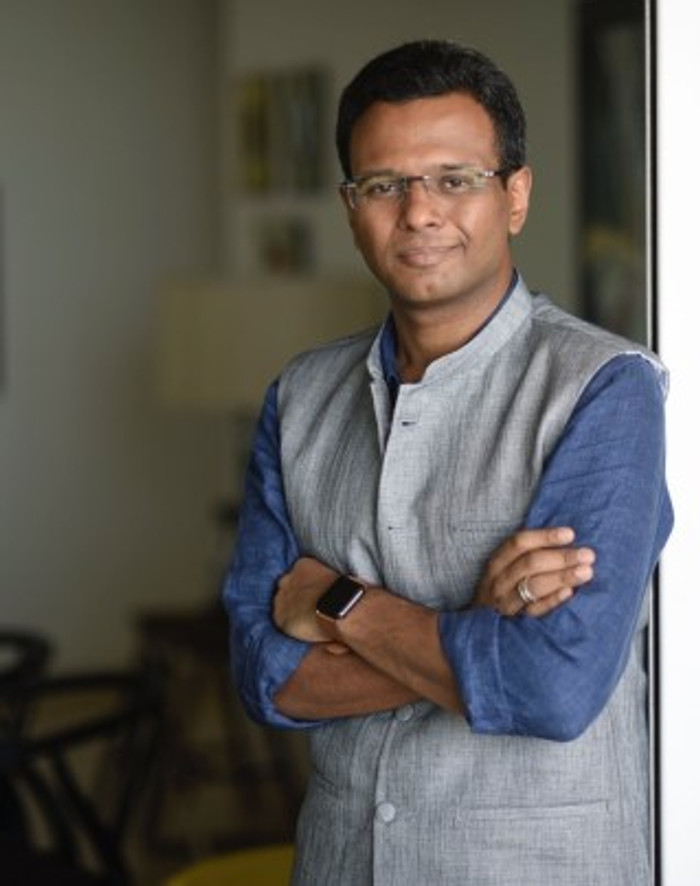 An interview with author Mainak Dhar and a photo to go with it.