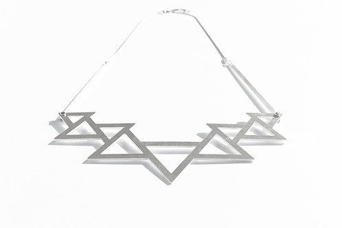 TriangleSilver Necklace