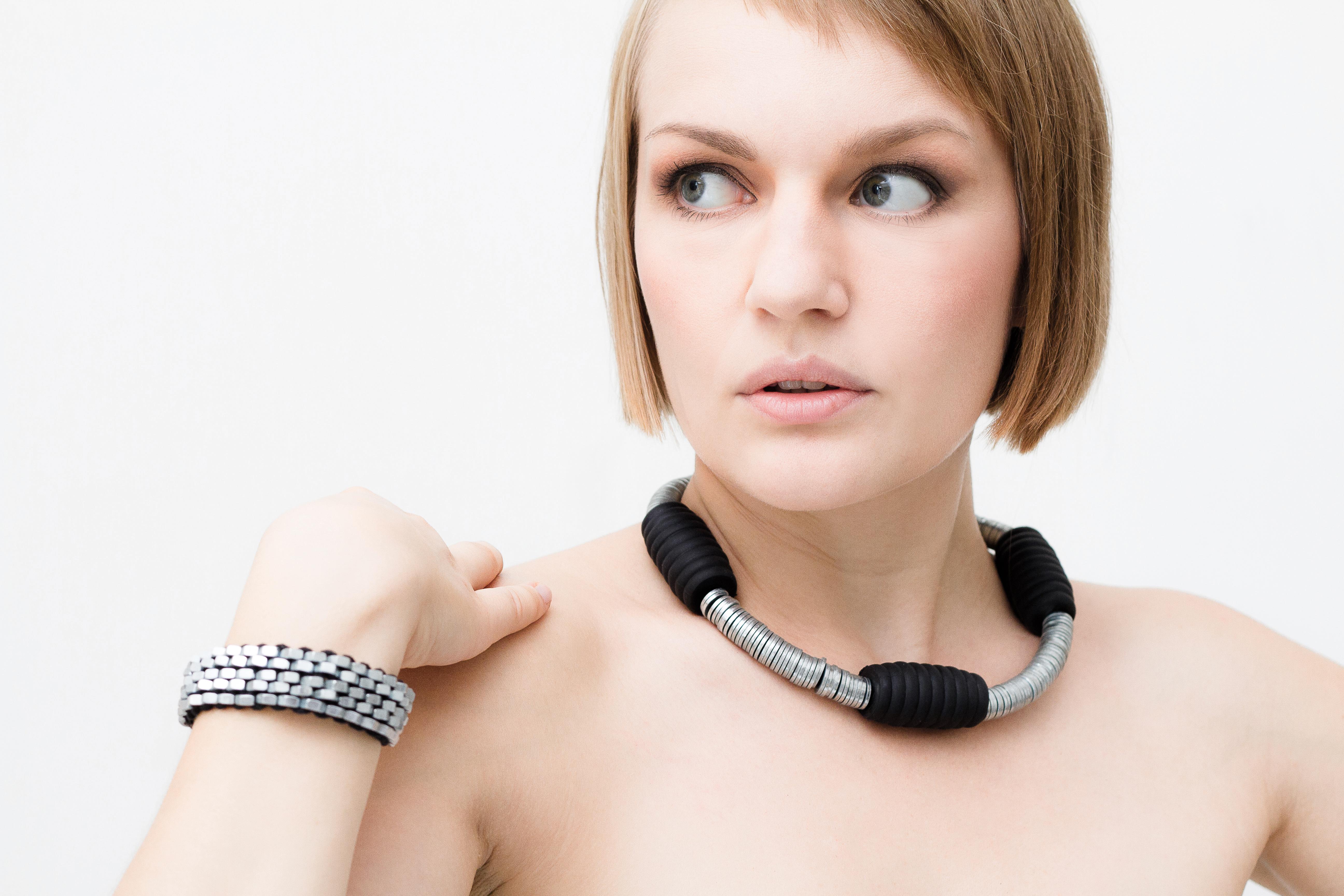industry . necklace & bracelet