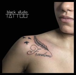 Lettering Tattoo Torino