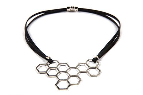 HEXAGON little necklace