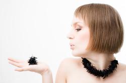 pine set . necklace & earrings