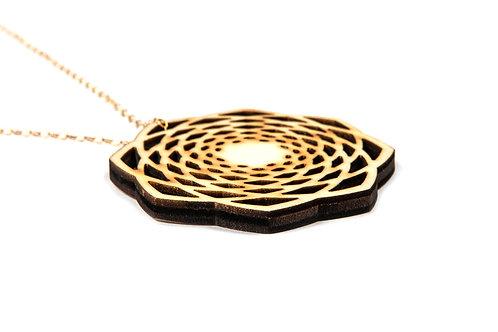 Golden Spiral Mandala n°1 - medalion