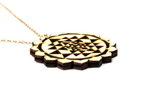 Sacred Geometry Mandala n°3  medalion