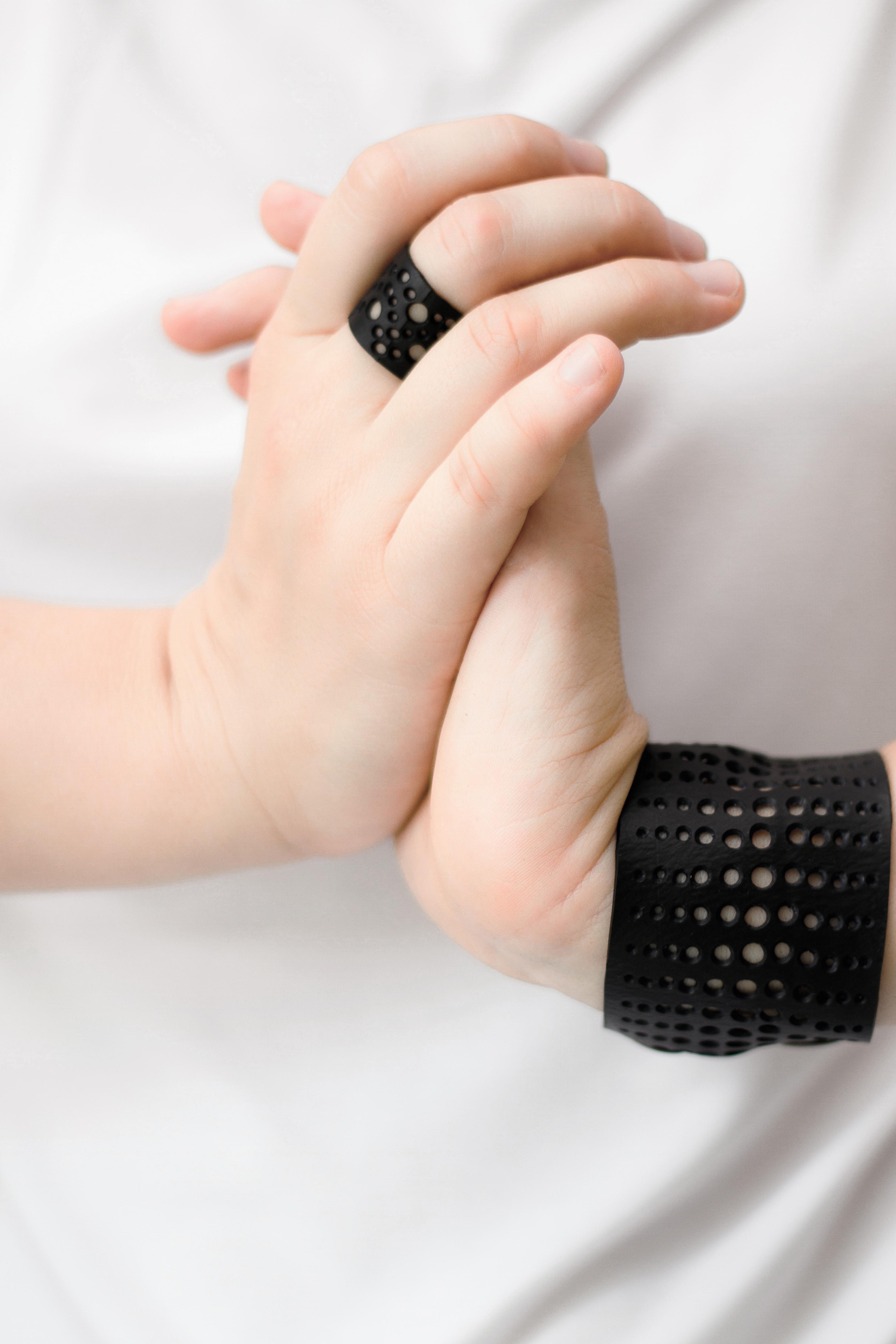 holy . ring & bracelet