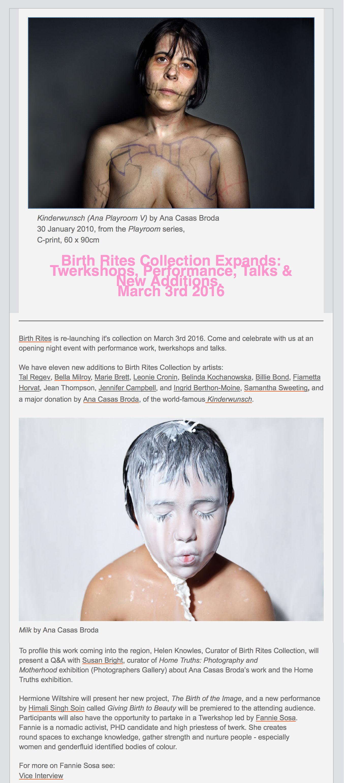 BIRTHRITES COLLECTION