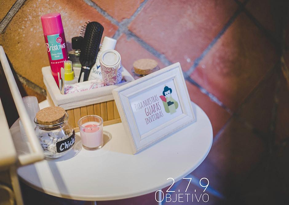 cesta baño boda tematica japonesa