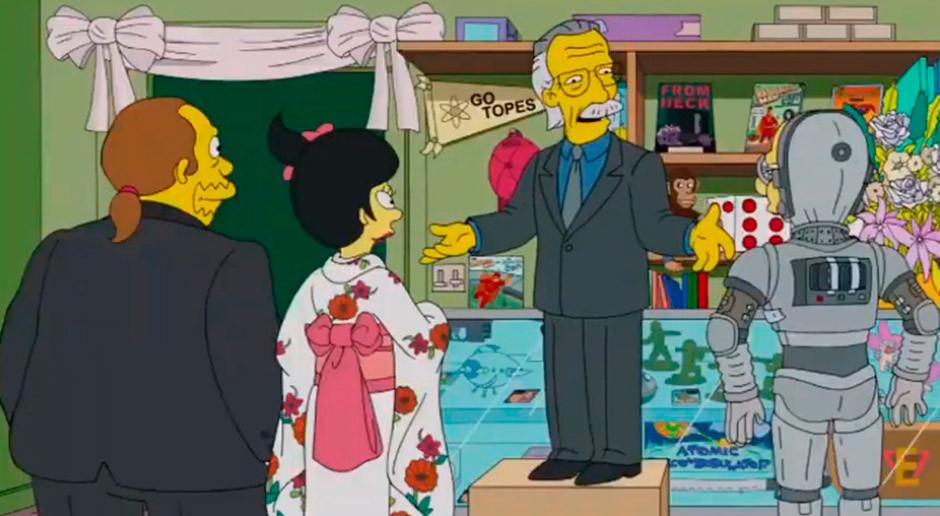 boda dependiente tienda comics los simpson