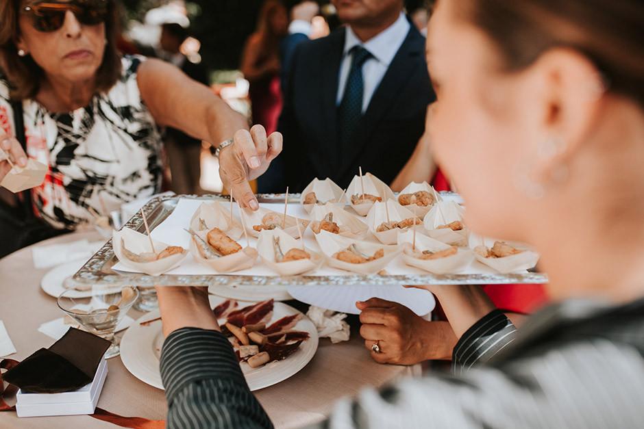 copa bienvenida boda