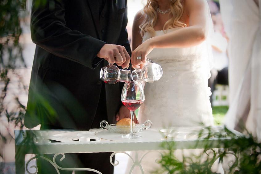 ritual vino boda