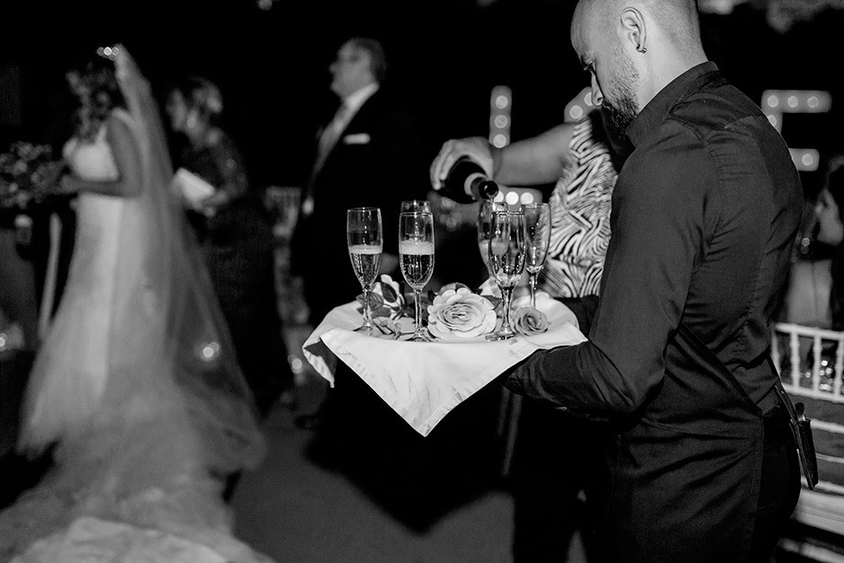 brindis novios boda