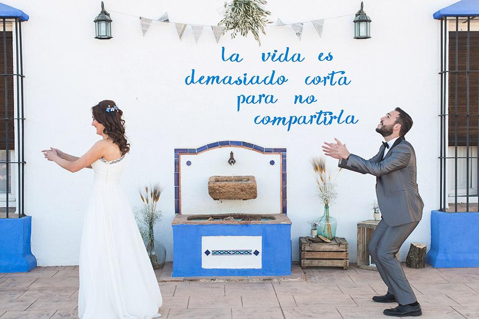 frase photocall boda