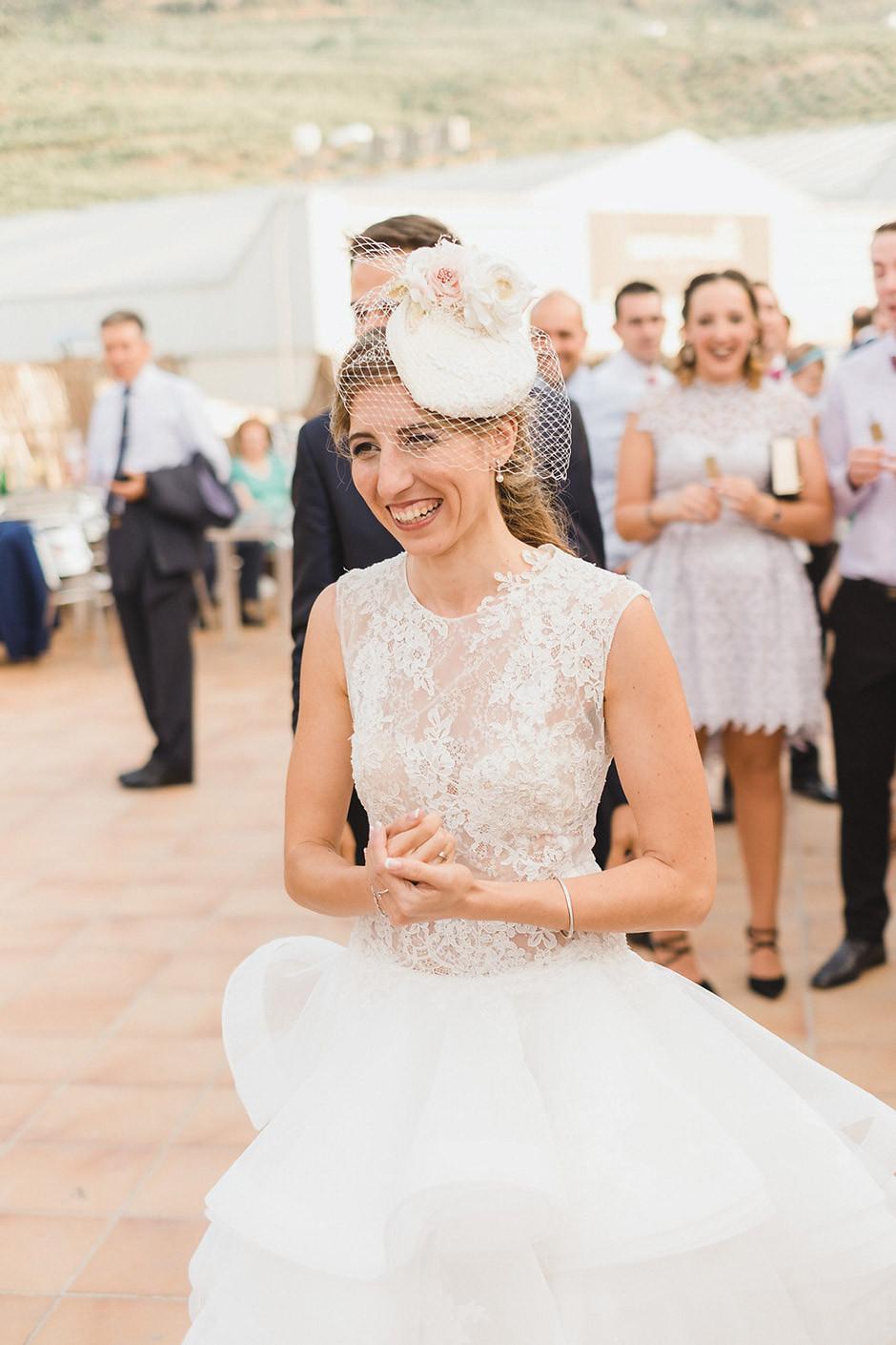 vestido corto novia boda