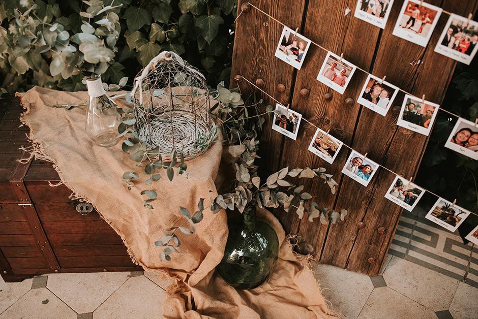 rincón fotos boda rústica